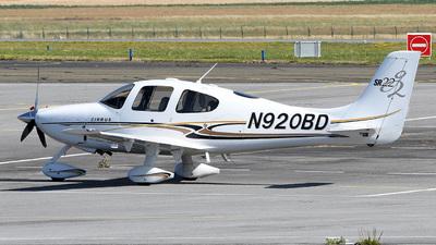 N920BD - Cirrus SR22-G2 - Private