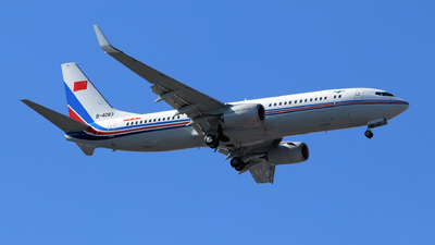 B-4083 - Boeing 737-89L - China - Air Force