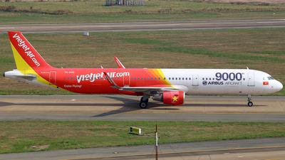 A picture of VNA651 - Airbus A321211 - VietJet Air - © nguyen tan khai