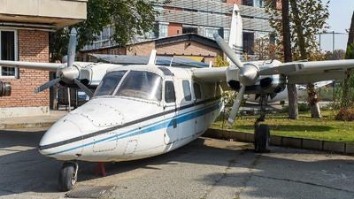 EP-AHT - Rockwell 500S Shrike Commander - Iran Aseman Airlines