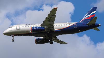 A picture of RA89023 - Sukhoi Superjet 10095B - Aeroflot - © László Kurilla