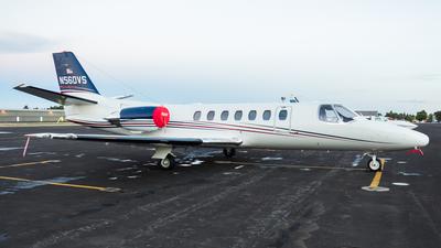 N560VS - Cessna 560 Citation Ultra - Private