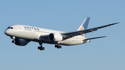 A picture of N28912 - Boeing 7878 Dreamliner - United Airlines - © Michael Knüfer