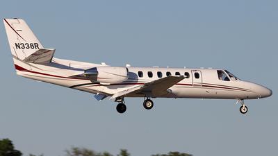 N338R - Cessna 560 Citation Ultra - Private
