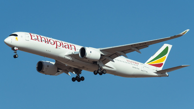 A picture of ETAUA - Airbus A350941 - Ethiopian Airlines - © AirlinerSpotter