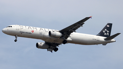 HL7730 - Airbus A321-231 - Asiana Airlines