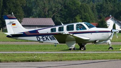 D-EKVA - Beechcraft A36 Bonanza - Private