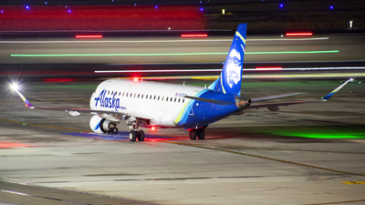 A picture of N193SY - Embraer E175LR - Alaska Airlines - © Michael Rodeback