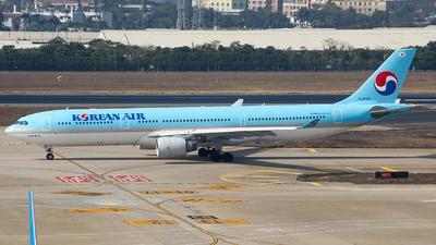 HL8025 - Airbus A330-323 - Korean Air