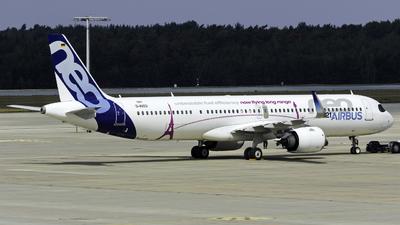 A picture of DAVZO - Airbus A321200N - Airbus - © Martin Rogosz