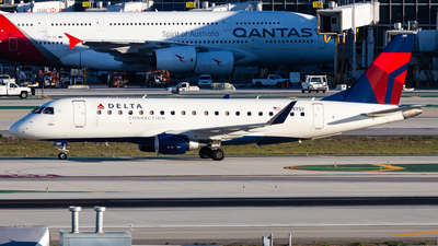 A picture of N247SY - Embraer E175LR - Delta Air Lines - © Brandon Giacomin