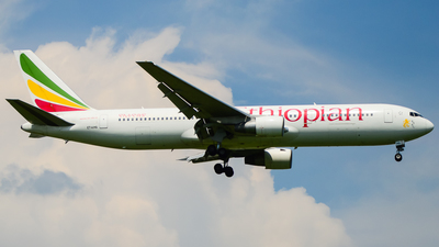 ET-AMG - Boeing 767-3BG(ER) - Ethiopian Airlines
