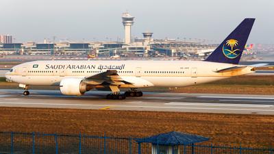 HZ-AKD - Boeing 777-268(ER) - Saudi Arabian Airlines