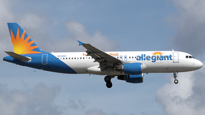 N215NV - Airbus A320-214 - Allegiant Air