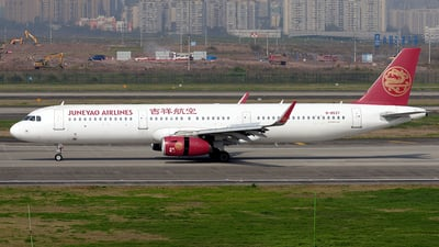 B-8537 - Airbus A321-231 - Juneyao Airlines