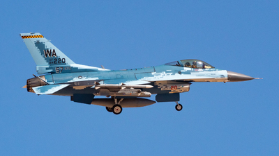84-1220 - General Dynamics F-16C Fighting Falcon - United States - US Air Force (USAF)