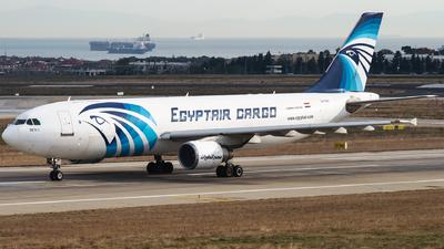 A picture of SUGAY - Airbus A300B4622R(F) - EgyptAir Cargo - © Furkan Borakazi