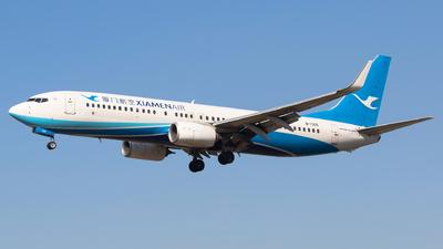 A picture of B1305 - Boeing 73785C - Xiamen Air - © Aircraft carrier FX