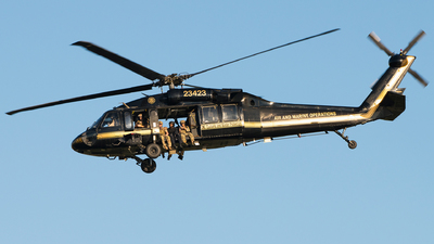 80-23423 - Sikorsky UH-60A Blackhawk - United States - Customs and Border Protection