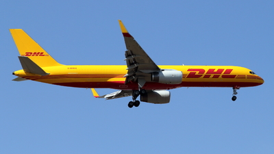 A picture of GDHKU - Boeing 757223(PCF) - DHL - © ikeharel