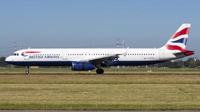 G-EUXK - Airbus A321-231 - British Airways