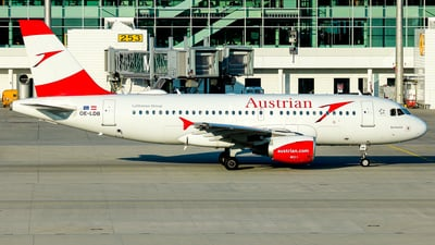 OE-LDB - Airbus A319-112 - Austrian Airlines