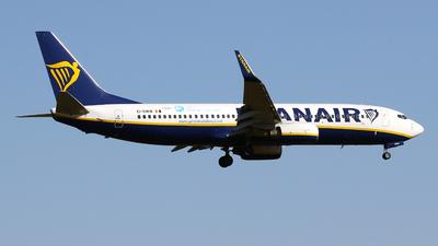 A picture of EIDWW - Boeing 7378AS - Ryanair - © Javier Rodriguez - Amics de Son Sant Joan