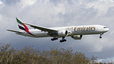 A picture of A6ECN - Boeing 77736N(ER) - Emirates - © Federico Villadei