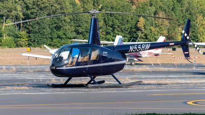 N558W - Robinson R44 Clipper II - Private