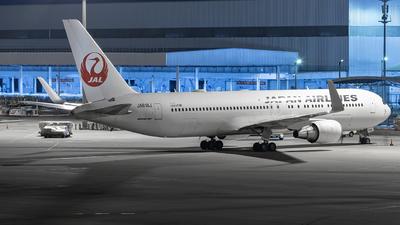 JA618J - Boeing 767-346(ER) - Japan Airlines (JAL)