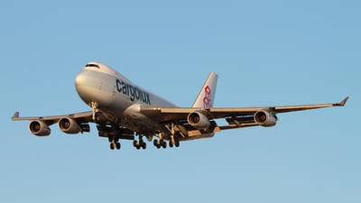 LX-GCL - Boeing 747-467F(SCD) - Cargolux Airlines International