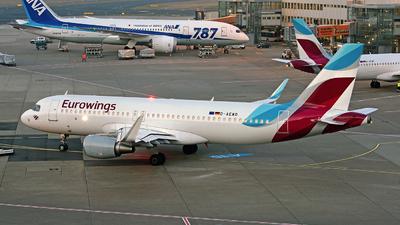 A picture of DAEWD - Airbus A320214 - [7019] - © Sebastian Thiel