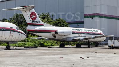 S2-ACW - Fokker F28-4000 Fellowship - Biman Bangladesh Airlines