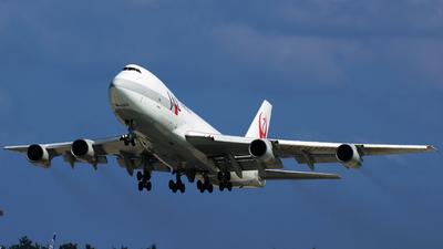 JA8165 - Boeing 747-221F(SCD) - JAL Cargo