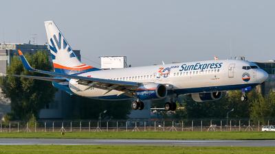 A picture of TCSPA - Boeing 7378HX - SunExpress - © Łukasz Jagodziński
