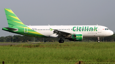 PK-GLL - Airbus A320-214 - Citilink