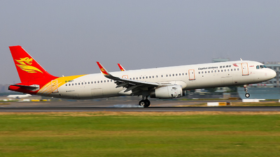 A picture of B8187 - Airbus A321231 - Capital Airlines - © Jeppesen_Tu