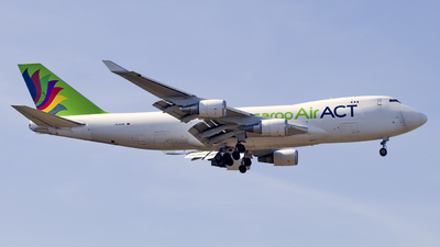A picture of TCACM - Boeing 747428F(ER) - AirACT - © Christopher Sho Schmitt