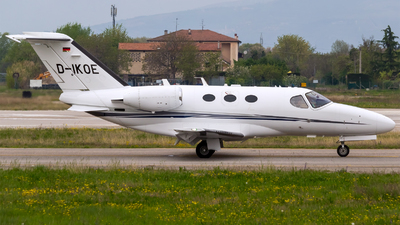 D-IKOE - Cessna 510 Citation Mustang - Private