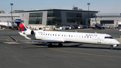 A picture of N316PQ - Mitsubishi CRJ900LR - Delta Air Lines - © Verrell Tan
