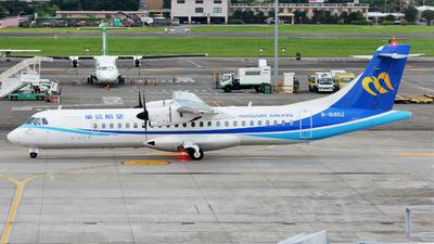 B-16852 - ATR 72-212A(600) - Mandarin Airlines