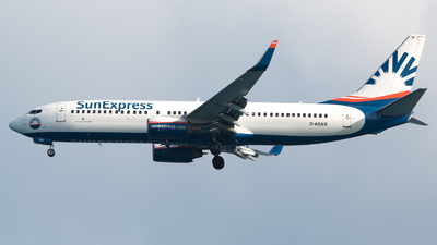 D-ASXR - Boeing 737-86J - SunExpress Germany