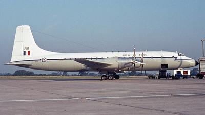 XM519 - Bristol Britannia C.1 - United Kingdom - Royal Air Force (RAF)