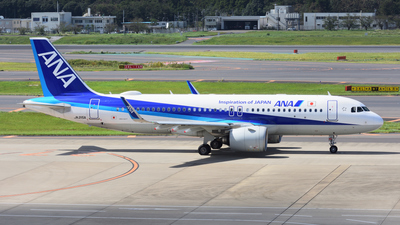 JA215A - Airbus A320-271N - All Nippon Airways (ANA)