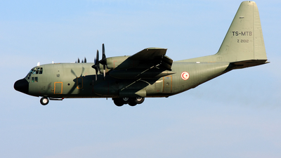 Z21012 - Lockheed C-130H Hercules - Tunisia - Air Force