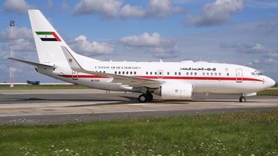 A6-DAS - Boeing 737-7Z5(BBJ) - United Arab Emirates - Abu Dhabi Amiri Flight