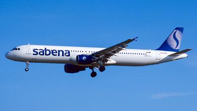 OO-SUA - Airbus A321-211 - Sabena