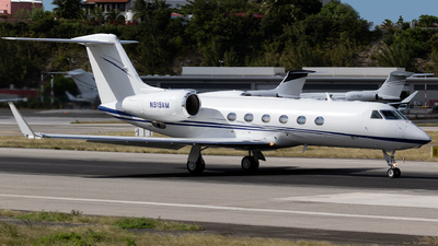 N919AM - Gulfstream G450 - Private