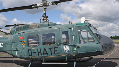 D-HATE - Bell UH-1 Iroquois - Germany - Bundesgrenzschutz