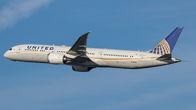 N36962 - Boeing 787-9 Dreamliner - United Airlines